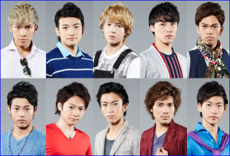 10神アクター(10神ACTOR)福岡発のイケメン集団が人気!おすすめメンバーは?